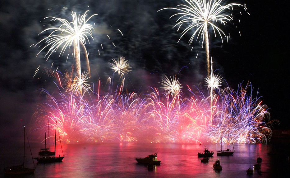 Madeira Feux d'artifice -New Years Eve affichage