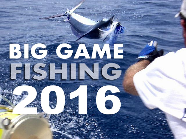 Big Game Fishing 2016