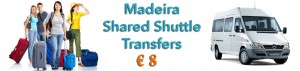 madeira shuttle transfer, madeira shared transfers, Funchal shuttle service, Funchal shared transfers